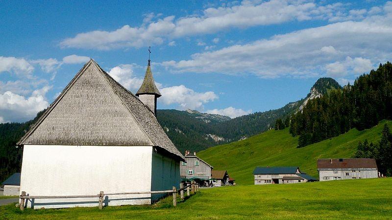 Das Kirchlein  in Schönenbach