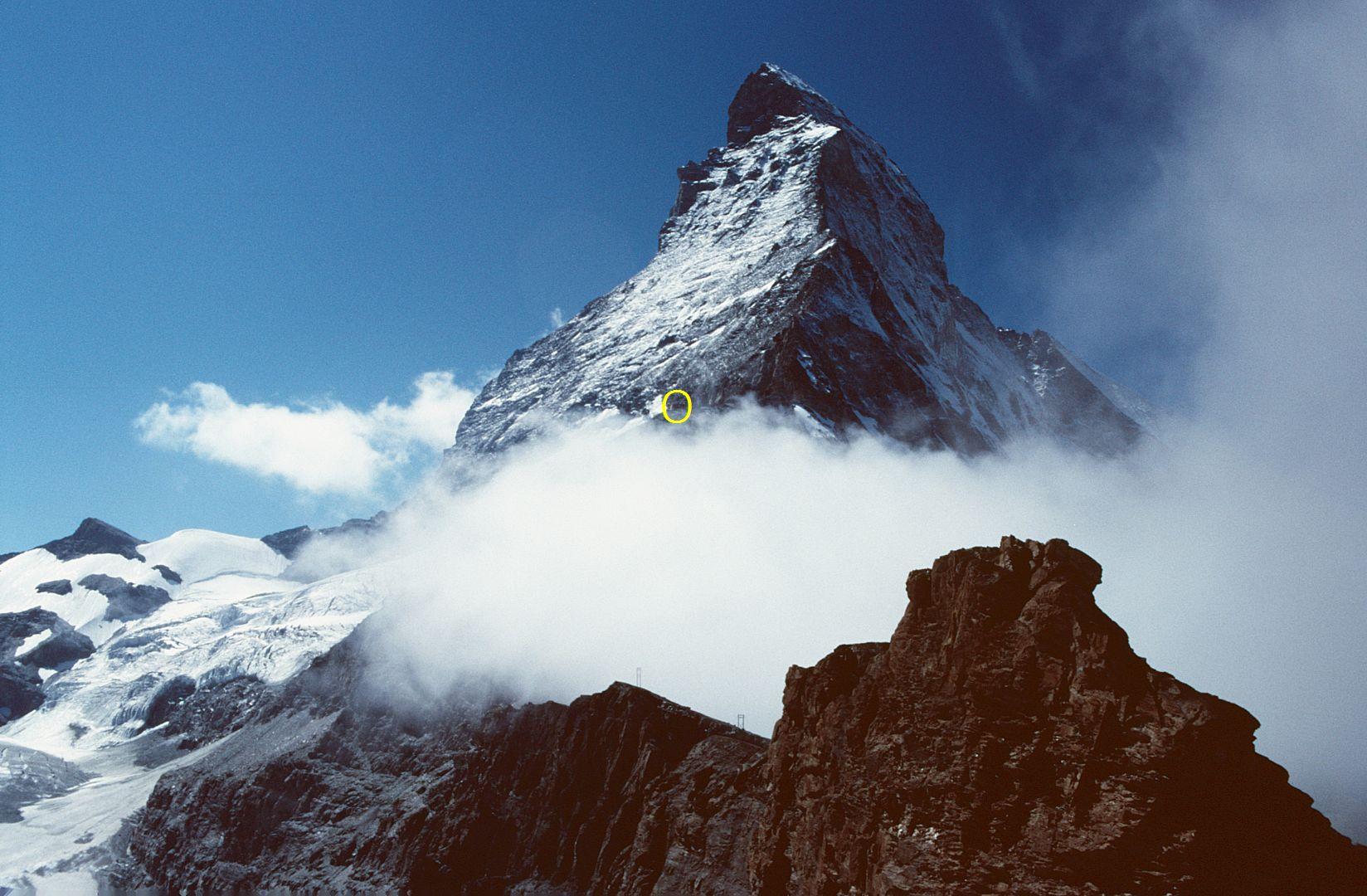 Hirli 2888 m am Fuss des Matterhorns