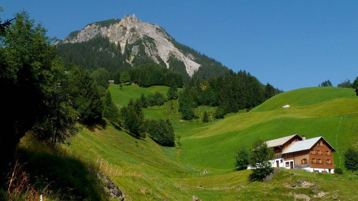 Alpe unterhalb der Blasenka