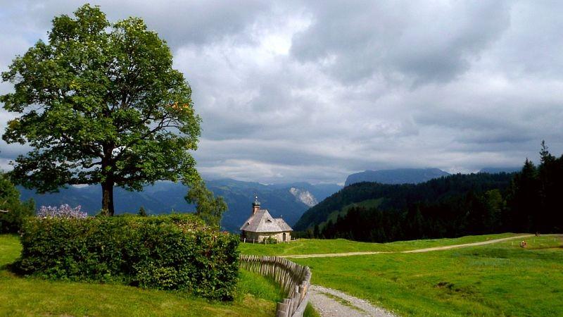 Die Benediktkapelle bei der Hochälpele Alpe