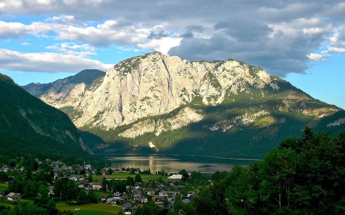 Rund um den Altausseer See.