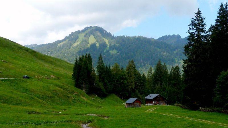 Auf dem Wegstück zwischen Schönenbach und Subersach