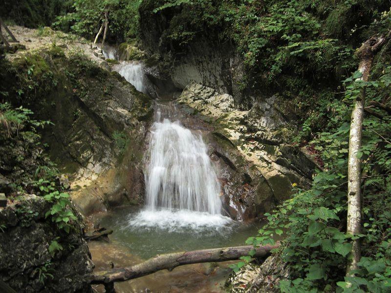 Der Wasserfall des Holleitenbachs