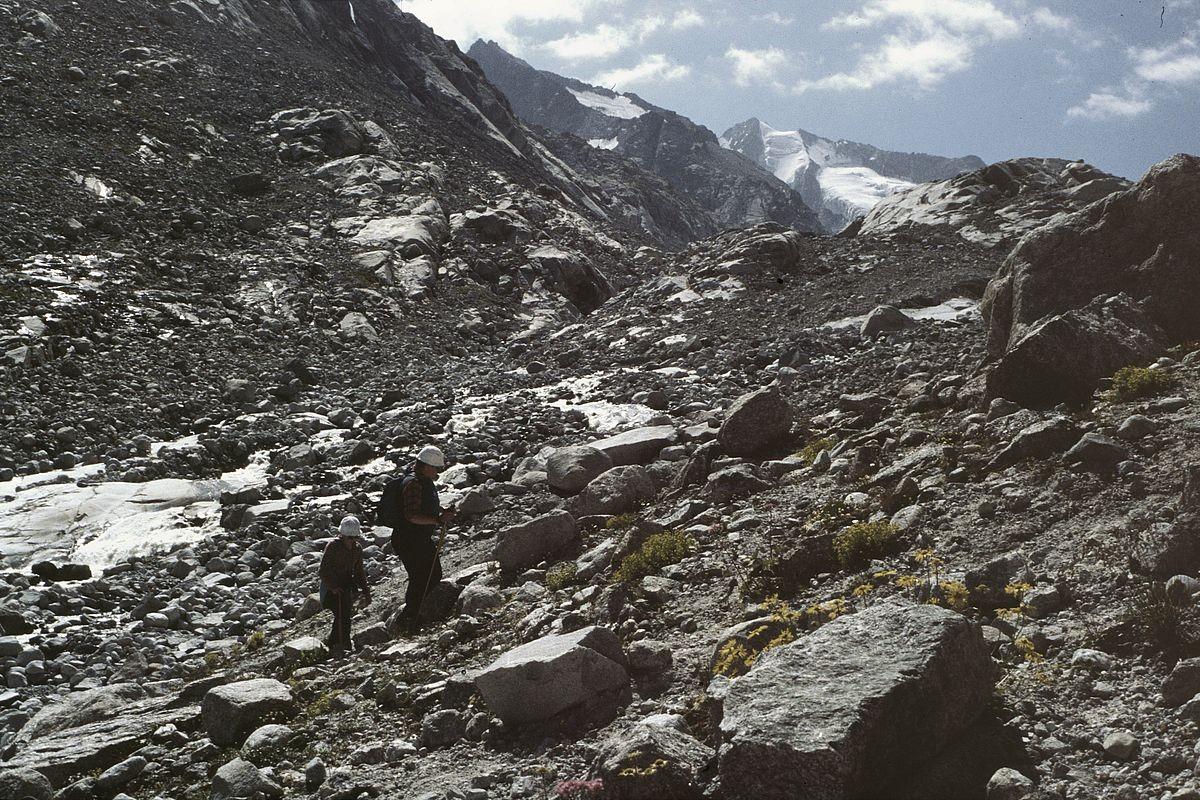 Letzter kurzer Anstieg zur Gletscherzunge