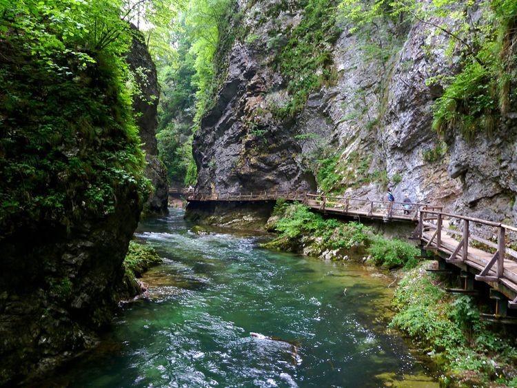 Vintgar-Schlucht bei Bled