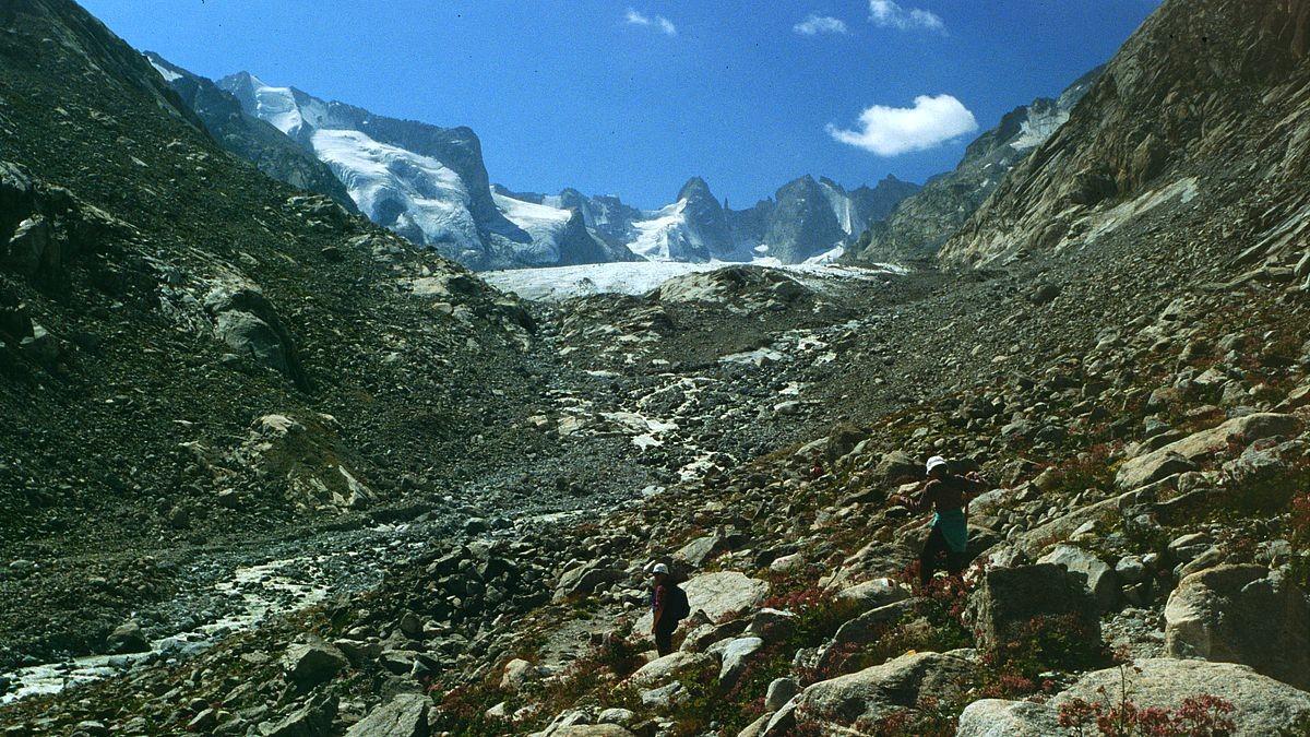 Durch das Val Forno zur Gletscherzunge