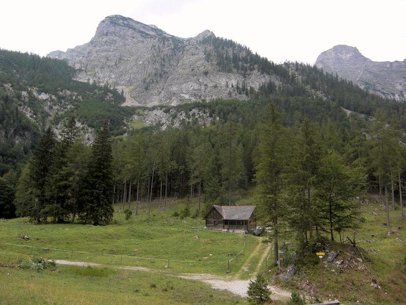 Die Poppenalm wird hauptsächlich als Jagdhütte genutzt. Das Vieh wird vom Tal aus versorgt.