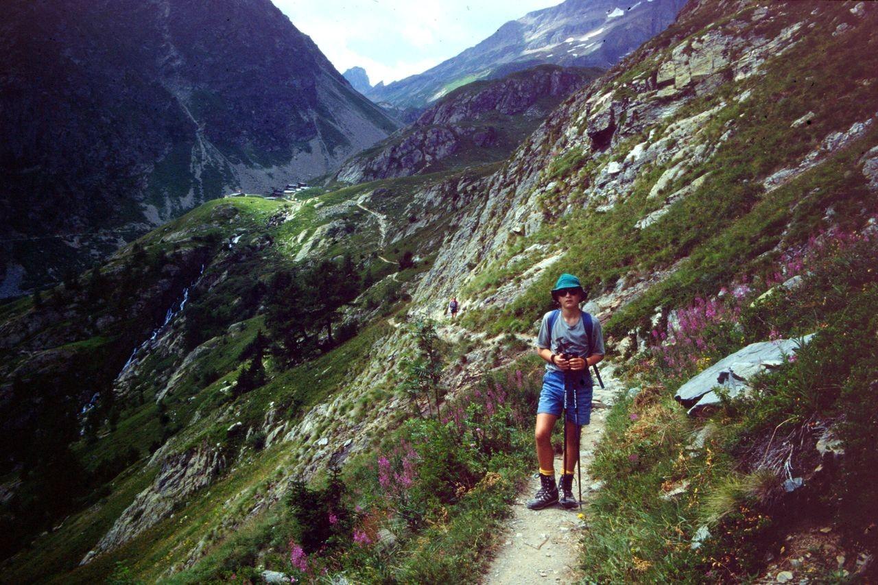 Wegstück zwischen Kummenalp undLauchernalp