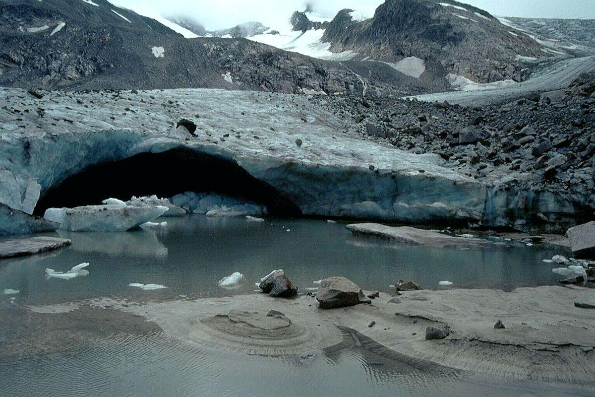 Gletschertor Obersulzbachkees