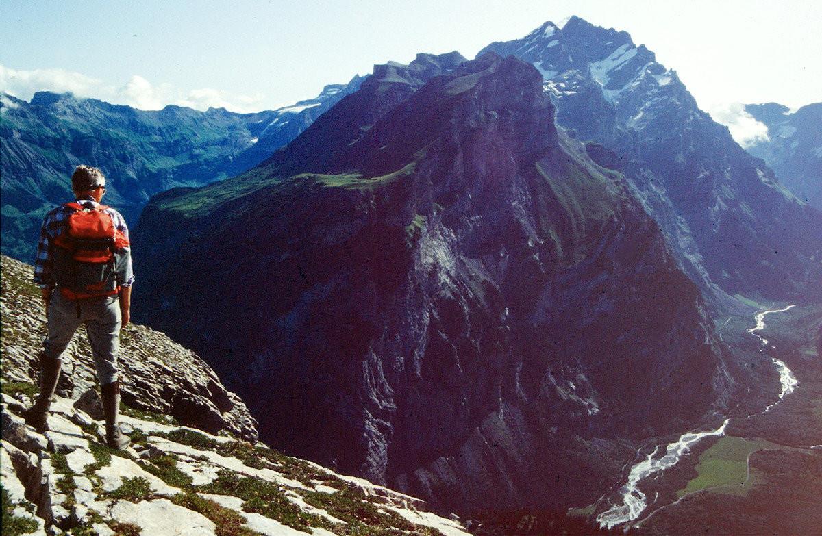 Fisistock und Doldenhorn vom Gipfel des Gällihorns