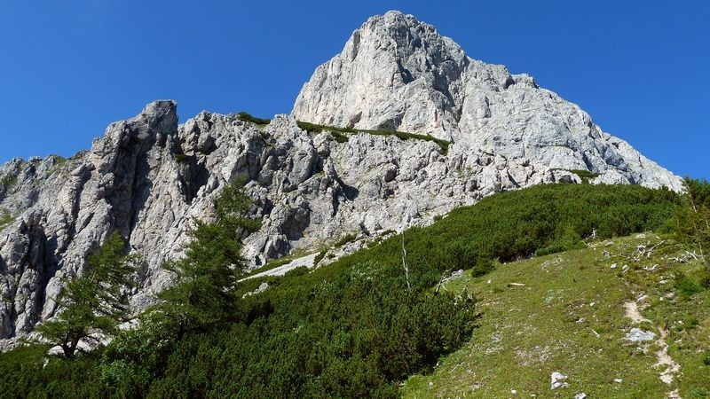 Kalbling - der dominierende Berg bei der Oberst Klinke Hütte