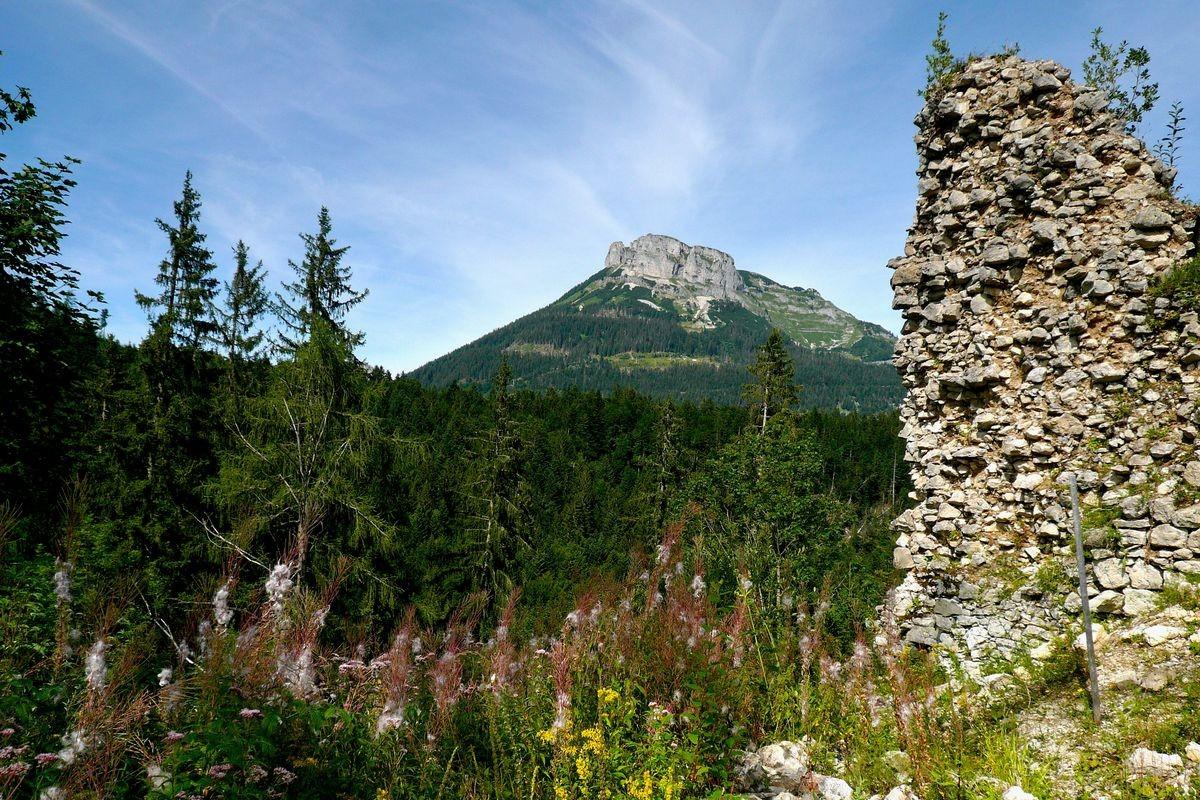 Loser von der Ruine Pflindsberg bei Altaussee