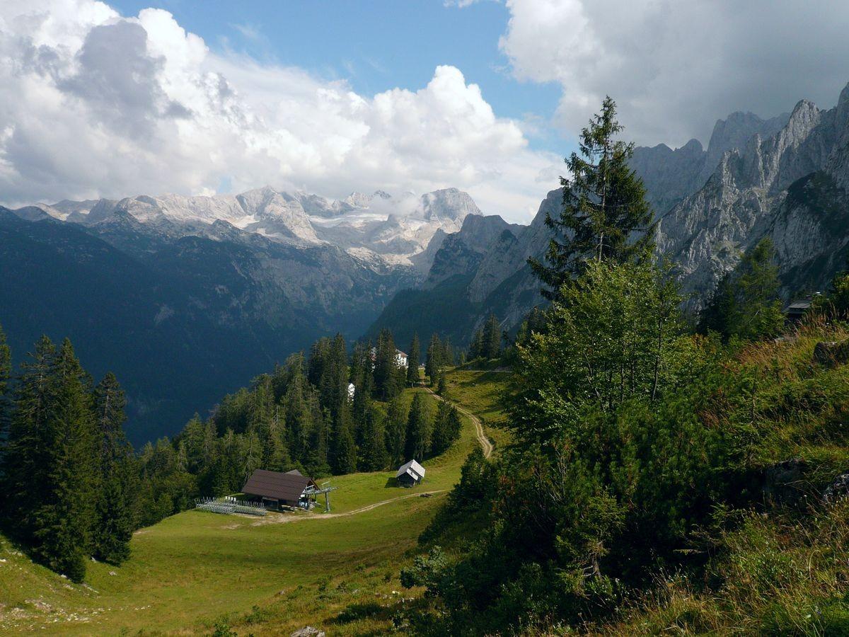 Zwischen Gablonerzer Hütte und Sonnenalm