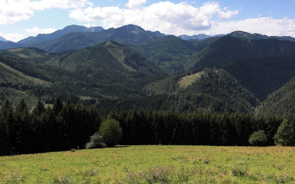 Nationalpark Kalkalpen vom Krotenbergrücken