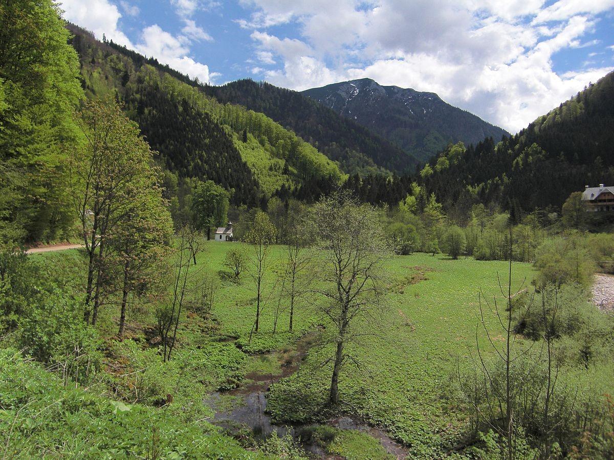 Bodinggraben. Blick zum Gr. Größtenberg