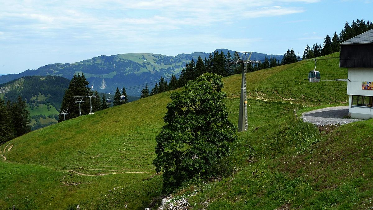 Mellaubahn - Bergstation Roßstelle