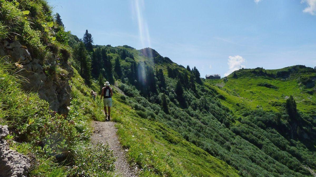 Steig von der Formarinalpe zur Freiburger Hütte