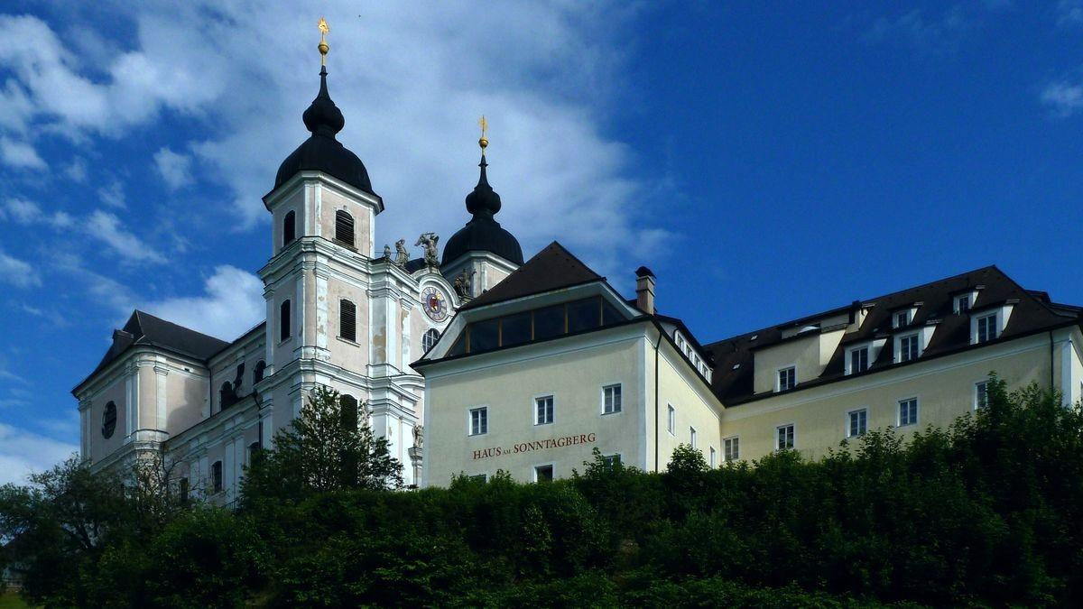 Basilika Sonntagberg von Norden