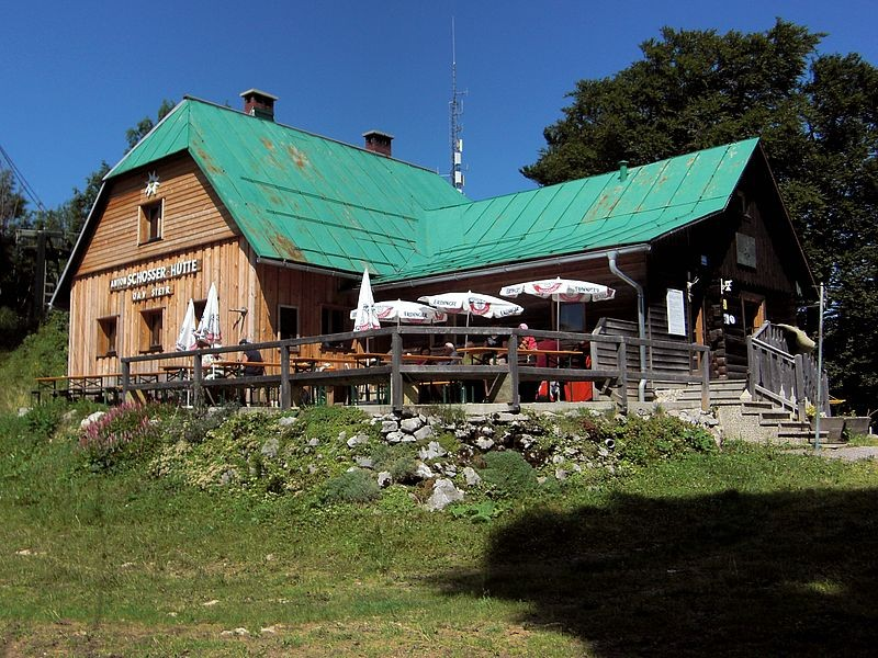 Die Anton Schösser Hütte