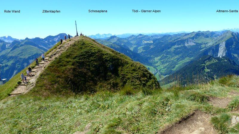 Am Gipfel des Diedamskopfes