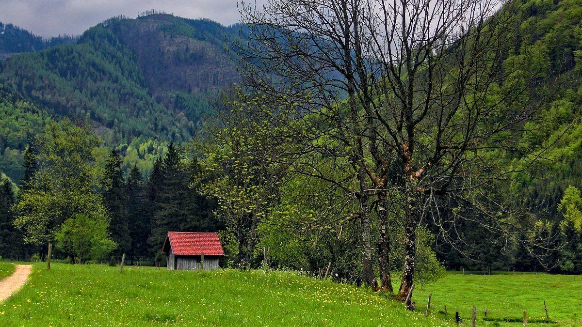 Wanderweg Richtung Klausgraben
