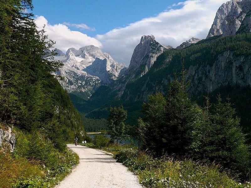 Der Güterweg - auch für Mountainbiker eine lohnende Tour