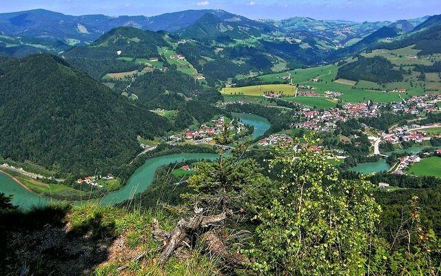 Großraming - Rabenreithkogel vom Hiaslberg