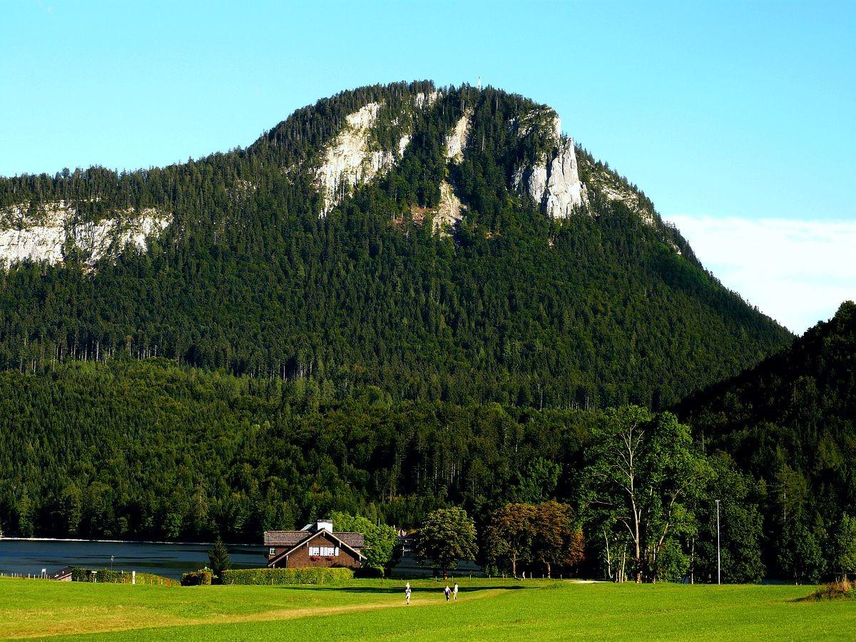 Der Tressenstein vom Gebiet des Altausseersees bei Altaussee