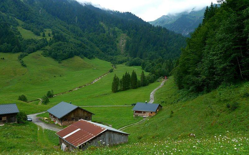 Die Alpsiedlung Vorderhopfreben