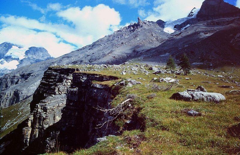 Krummer Stein und Doldenhorngletscher-Abbruch