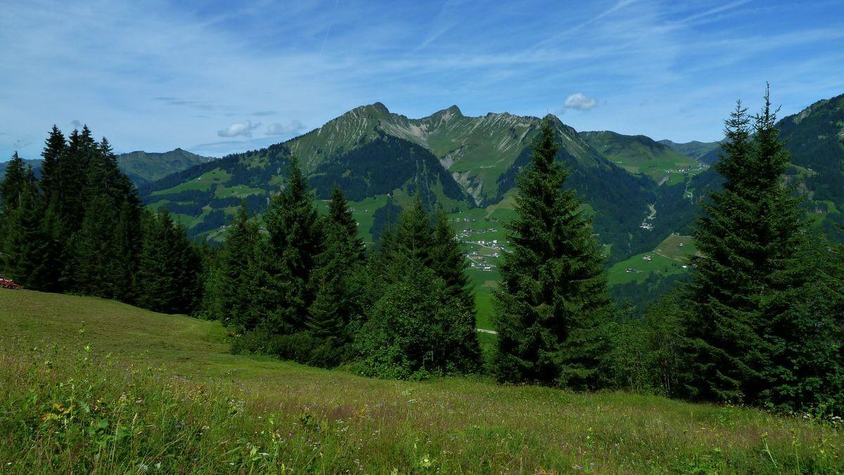 Rückblick auf Türtschhorn und Glatthorn