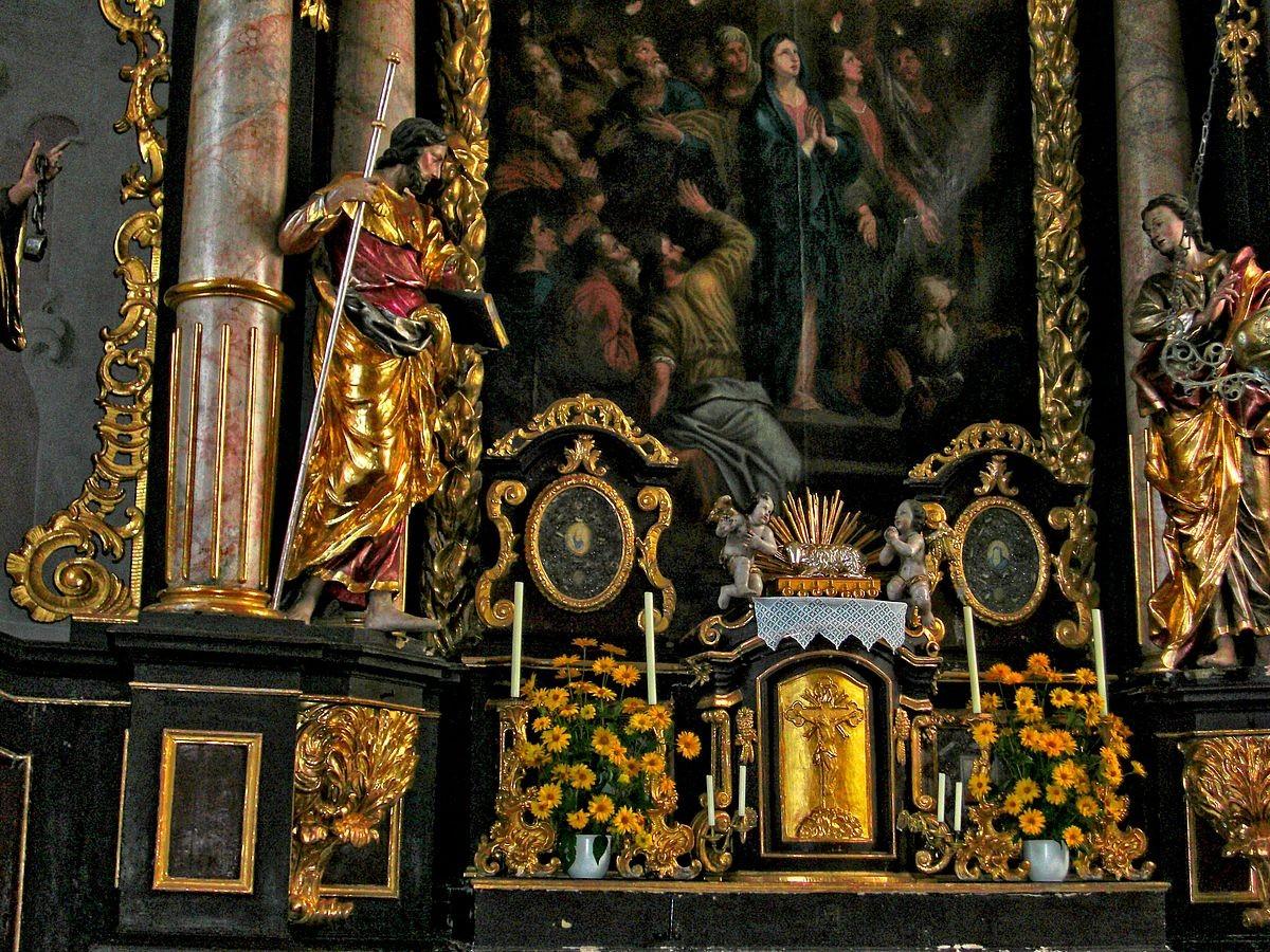 Hochaltar der kath. Pfarrkirche von Großraming