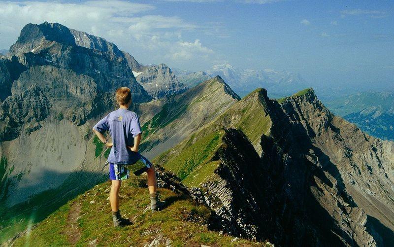 Wanderung Allmenalp - First (Foto) - Elsigenalp - Frutigen