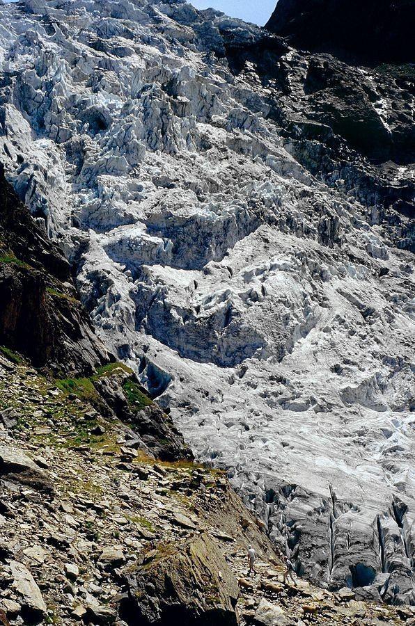 Der Eisfall des Oberen Eismeers