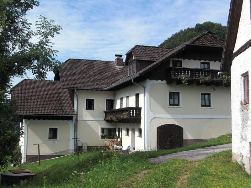 Das Wohngebäude des Ferienhofs Rabenreith