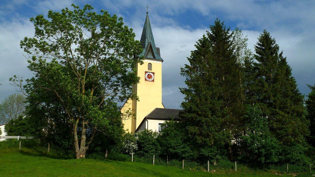 Der Turm der Wallfahrtskirche Frauenstein
