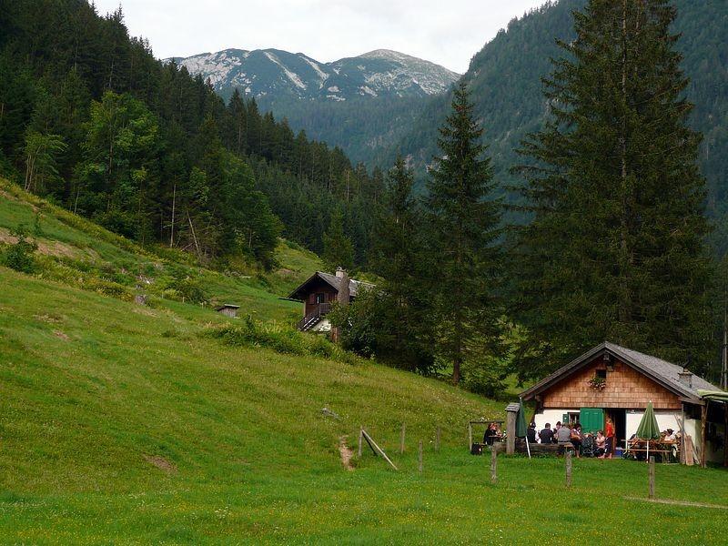 Almfest mit Musik an Maria Himmelfahrt auf der Rettenbachalm