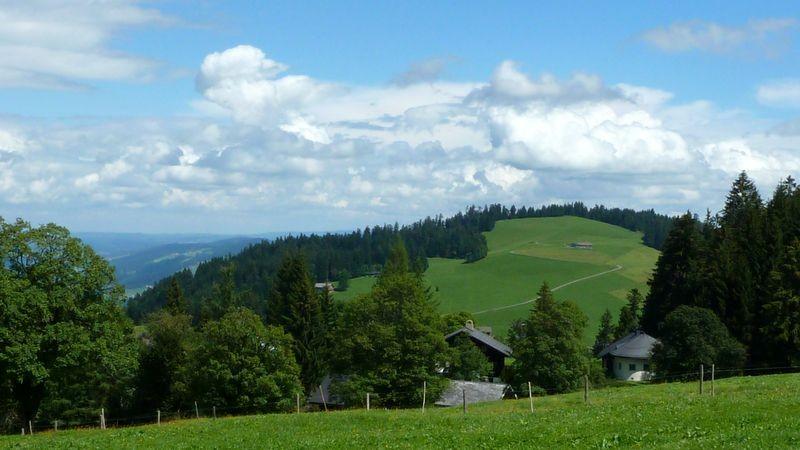 Blick nach Norden ins Gebiet des Geiskopfs