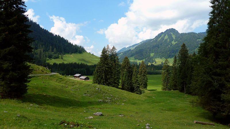 Am Wegstück zwischen Schönenbach und Subersach