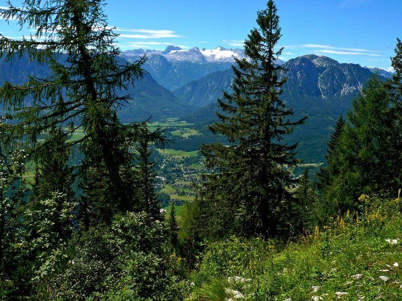 Aufstieg von der Loserhütte durch den Steilhang zum Loser