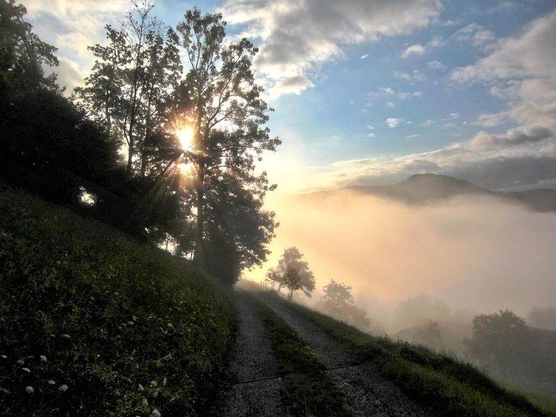 Sonnenaufgang am Rabenreithkogel