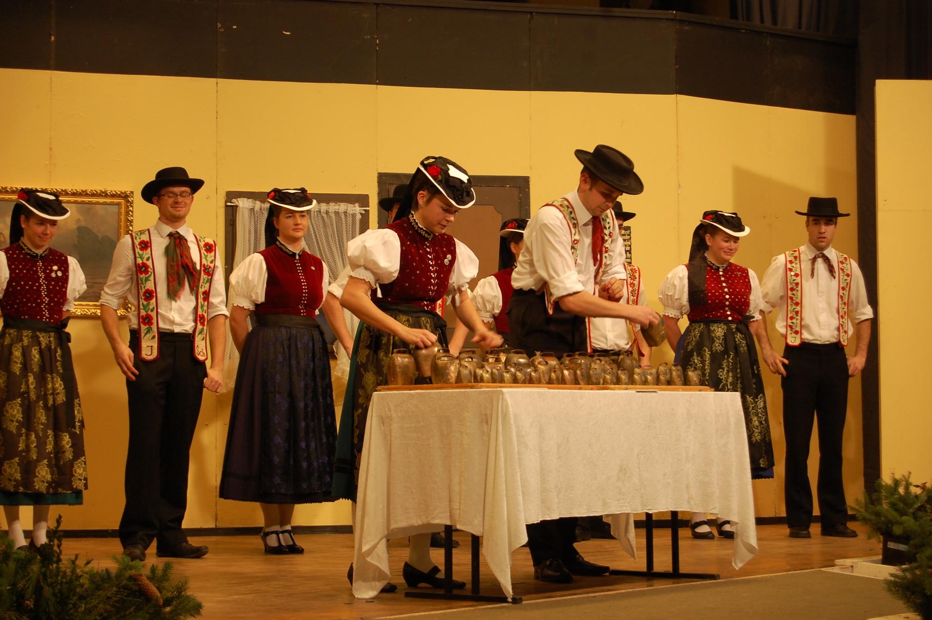 Heimatabend im Winter 2014: Glockenspiel