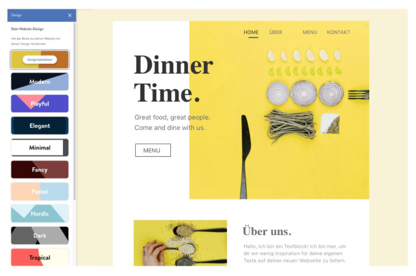 Ejemplo de maquetación web
