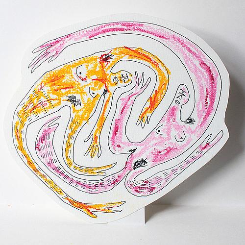 """Bild von Jennifer Eder, entstanden während dem Workshop """"Sexualität und Illustration"""" von Judith Auer"""