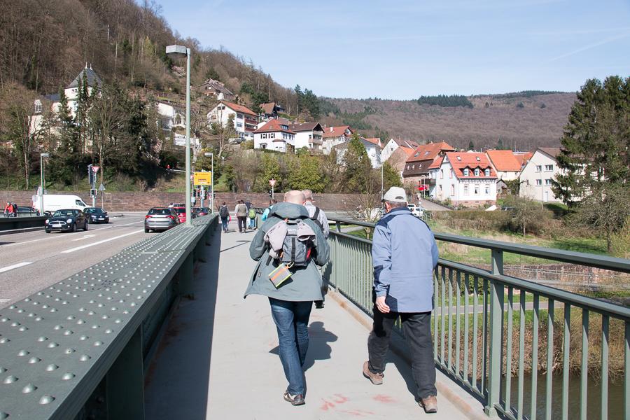 Auf der Friedensbrücke (Foto: B. Budig)