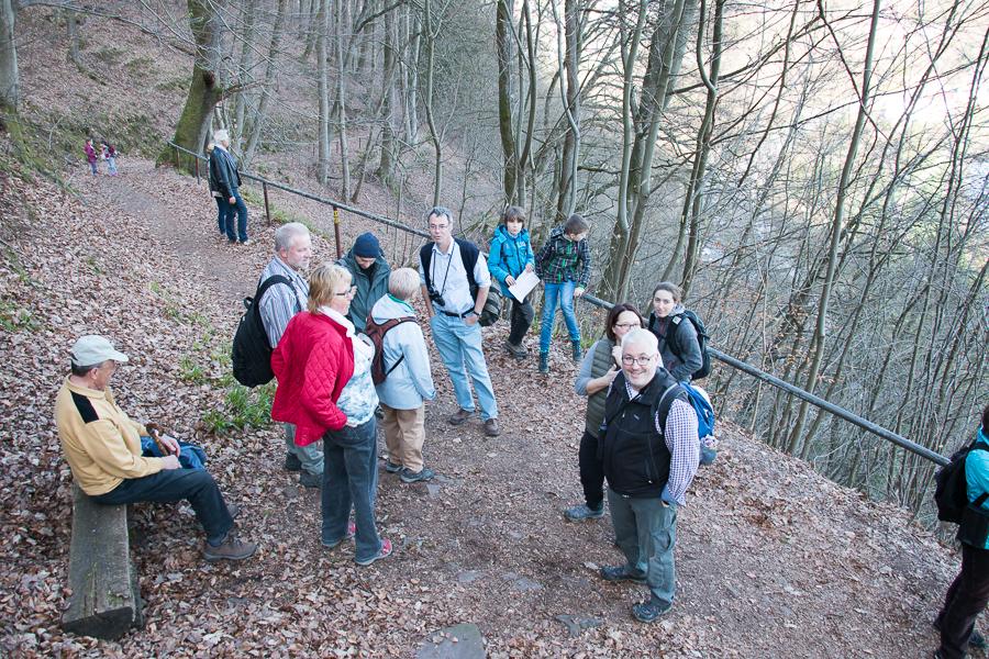 Beim Abstieg (Foto: B. Budig)