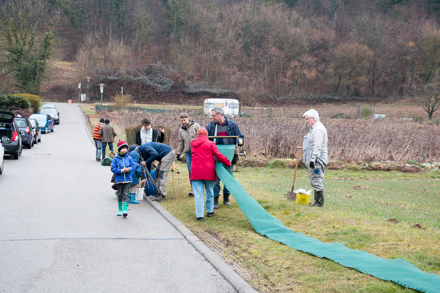 Jedes Jahr eine Gemeinschaftseistung (Foto: B. Budig)