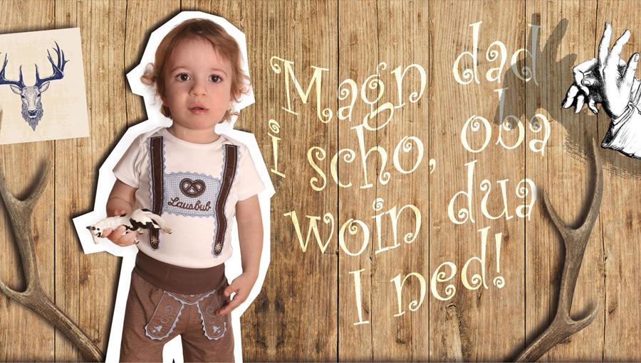 Vom Babydirndl über Trachtenstrampler bis zum Trachtenhemd