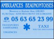 Ambulances Beaumontoise