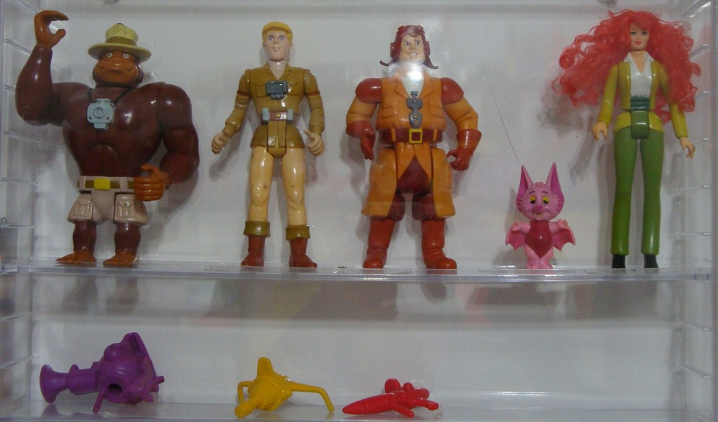 Filmation's Ghostbusters Figures